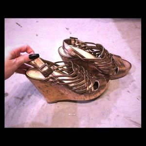 Cute Copper wedges, size 8
